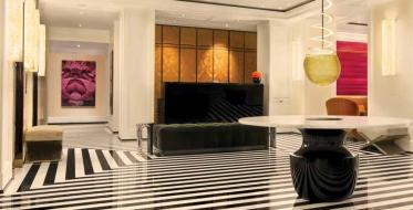 Lobby is a sign of recognition of a hotel