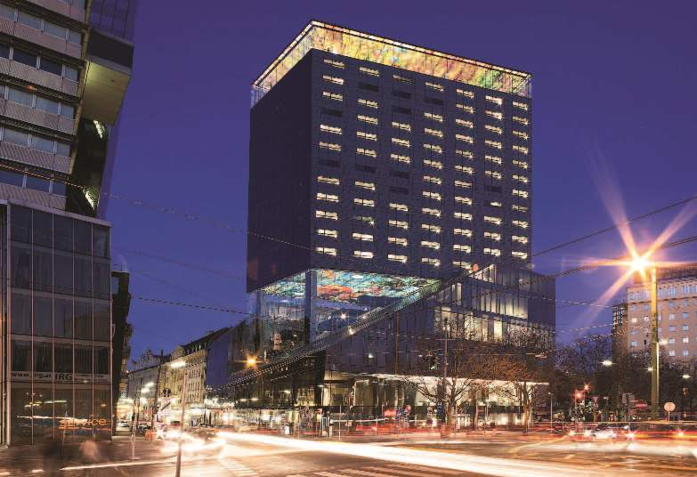 City hotels - center of events, symbol of prestige