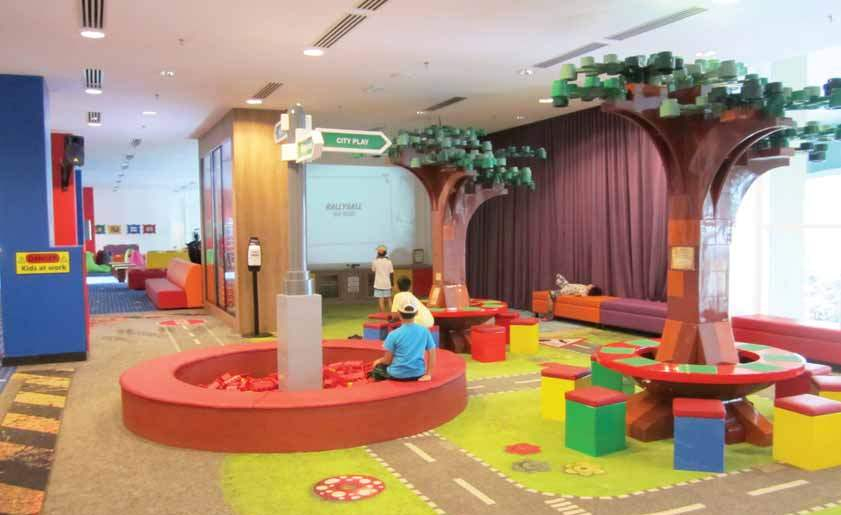 Spaces devoted to children in hotels - For joyful children and happy parents