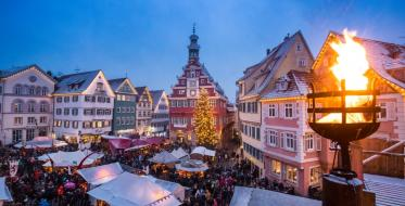 Christmas and Medieval Market in the town of Esslingen