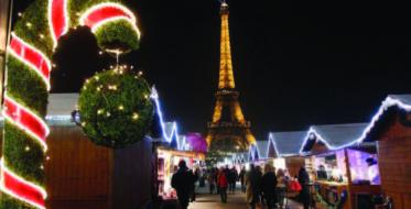 New Year's celebration in the City of light