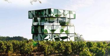 Rubix cube in the heart of the vineyard