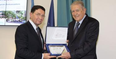 Prof. dr Slobodan Unković: Awarded with the biggest UNWTO recognition