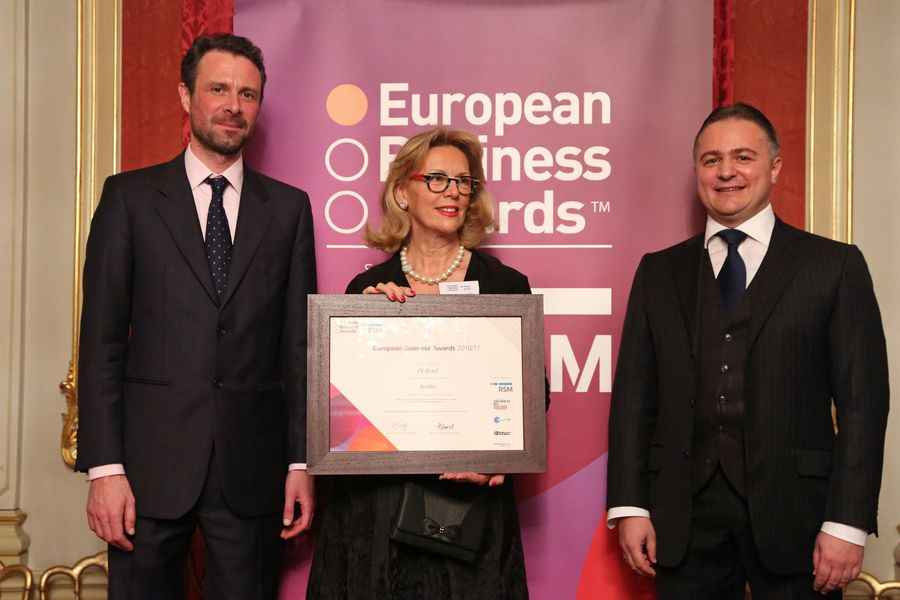 European Business Awards: IN Hotel proglašen Nacionalnim šampionom Srbije
