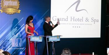 Grand Hotel & Spa dobitnik Superbrands priznanja