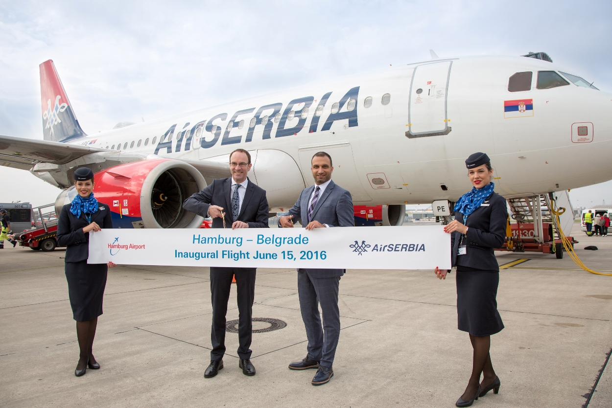 Air Serbia uvodi let za Hamburg
