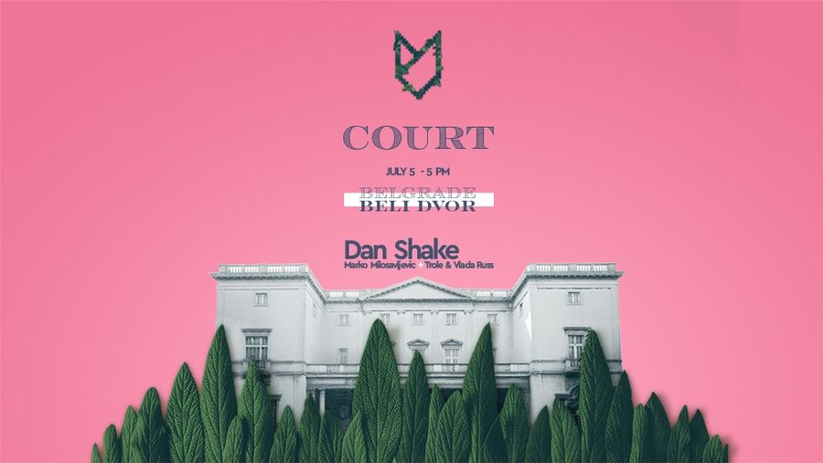 Lovefest Court 5. jula na Belom Dvoru